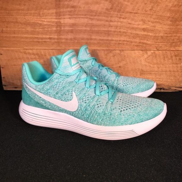 NEW Nike Lunarepic Flyknit Ocean Green
